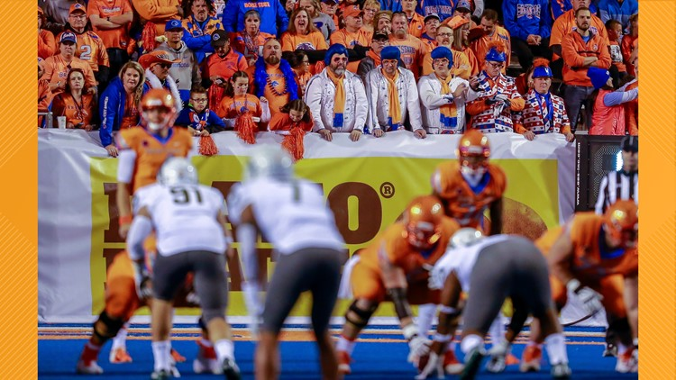 Boise State unveils fan color schemes for the 2021 football season