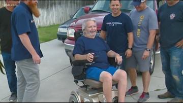 7's Hero: Nampa Fire Department volunteers to build wheelchair ramp for veteran