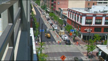 ACHD has 18 projects in downtown Boise, with Idaho Street being the biggest