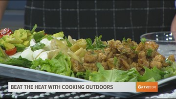 KTVB Kitchen: How to create a Chicken Avocado Caprese Salad