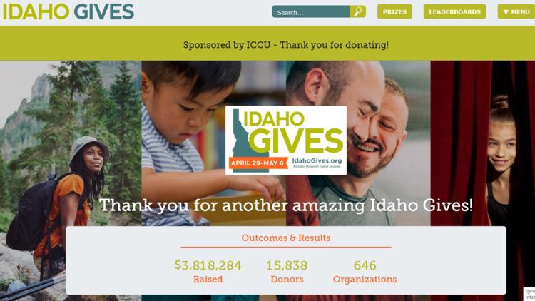 Idaho Gives raises more than $3.8M for Idaho nonprofits