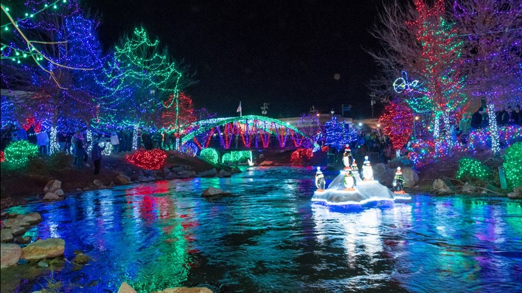 More than a million lights will light up downtown Caldwell