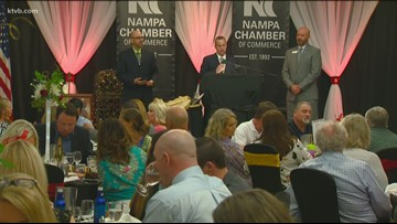 Nampa Chamber of Commerce honors local business leaders