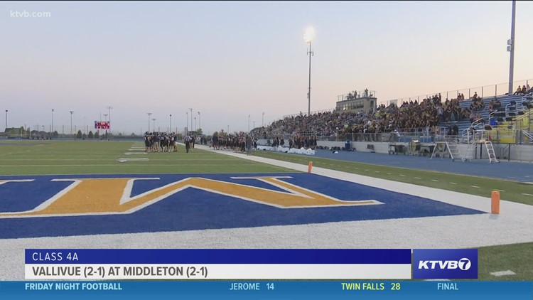 Friday Night Football: Middleton Vikings take on the Vallivue Falcons