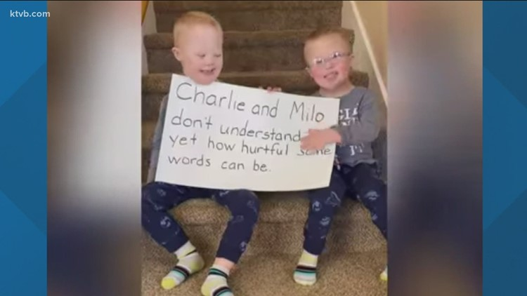 7's HERO: Nampa twins with Down syndrome spread awareness about ending the use of the