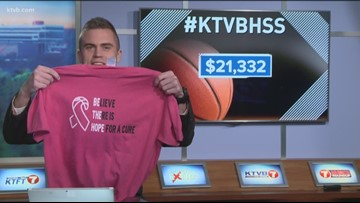 "Boise Lady Braves raise over $3,100 during ""Pink Zone"" games"