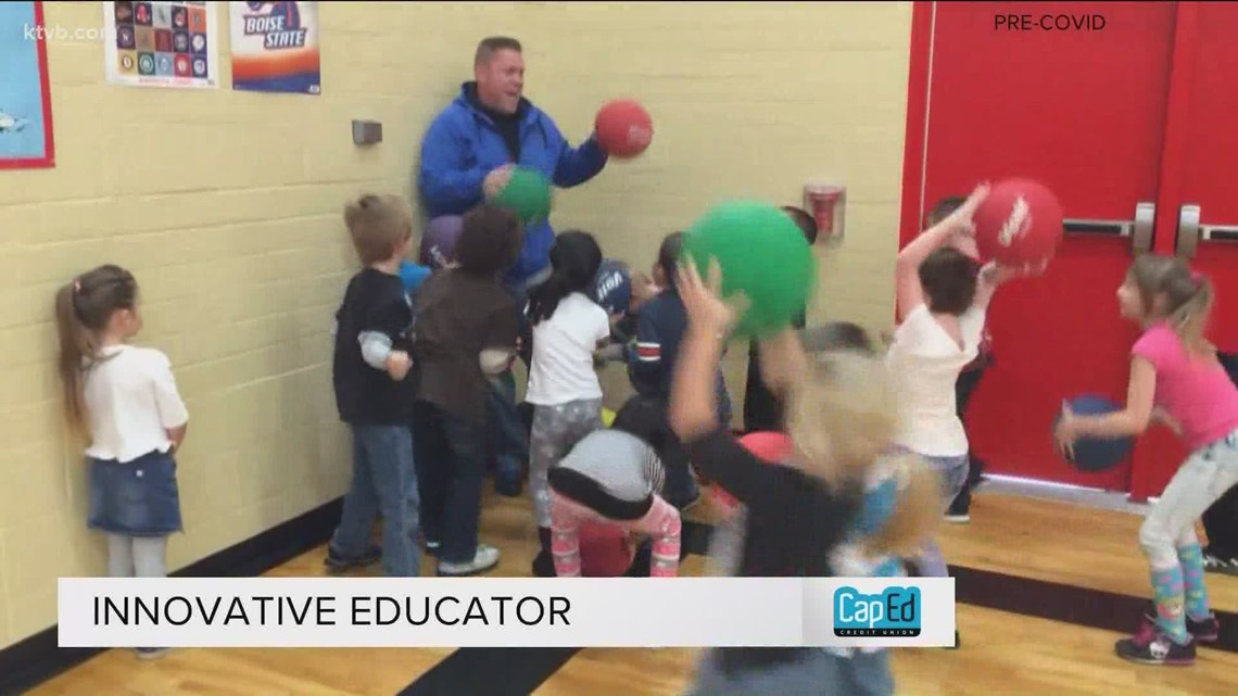 P.E. teacher gets laughs at Vision Charter School