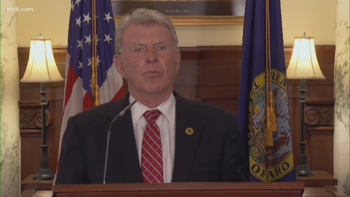 Former Idaho Gov. Otter explains why vetoed bills would impact 'all future Idaho governors'
