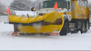 Snow-removal crews work around the clock to clear Treasure Valley roads