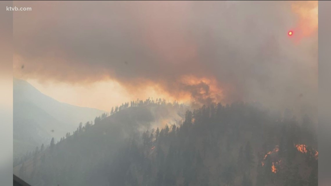 Idaho wildfires: Mud Lick Fire forces evacuations, fires in North Idaho continue to grow, Snake River Complex is 31% contained