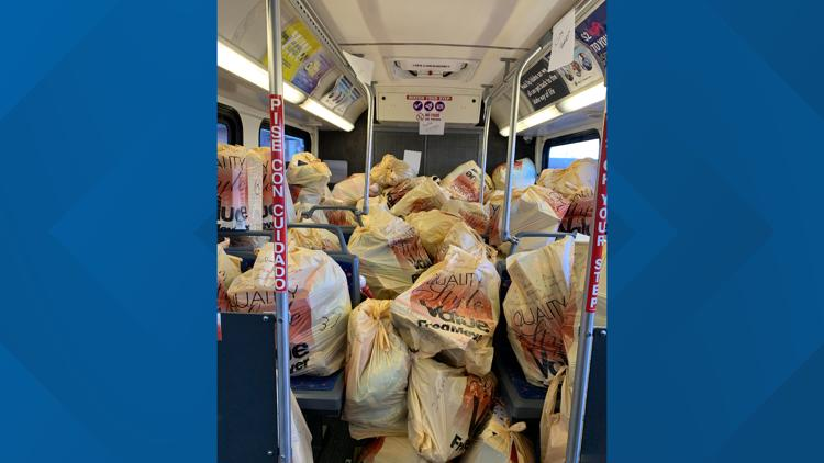 Nearly 8,000 toys donated to Treasure Valley children during The Salvation Army's Stuff the Bus event