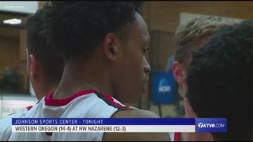 HIGHLIGHTS: NNU vs. Western Oregon men's basketball 1/26/2019
