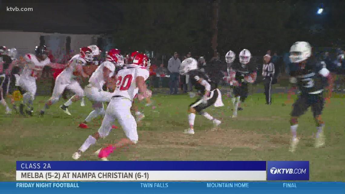 Friday Night Football: Nampa Christian takes on Melba on Senior Night