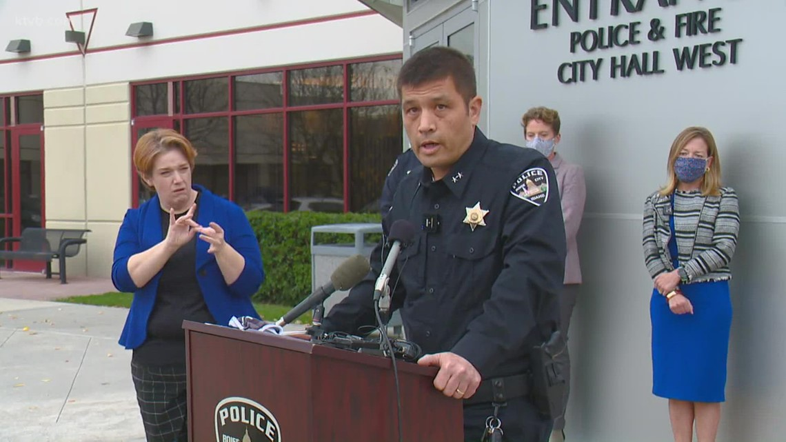 Boise PD Chief Lee provides update on early stages of investigation into mall shooting