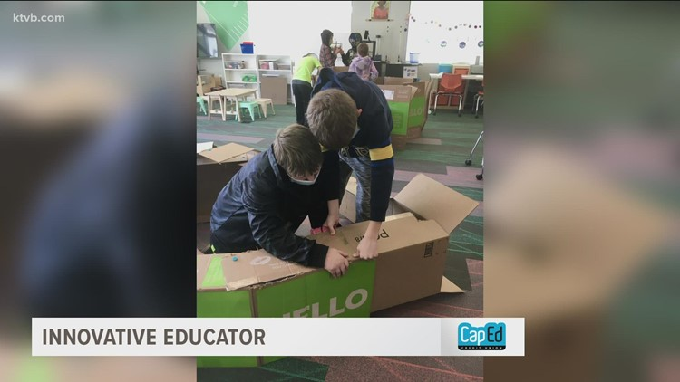 Innovative Educator: Garden City teacher strives to develop the engineers of the future