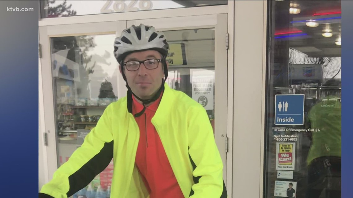 7's Hero: Boise gas station employees gift new bike to their favorite customer