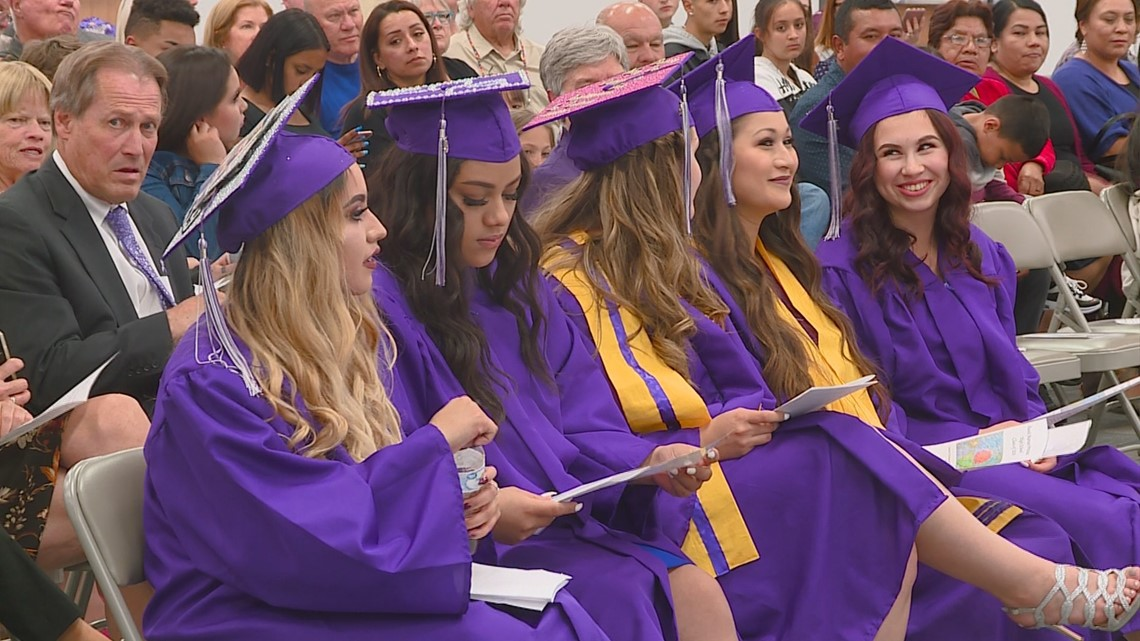 Booth Marian Pritchett High School celebrates final graduation from historic Boise campus