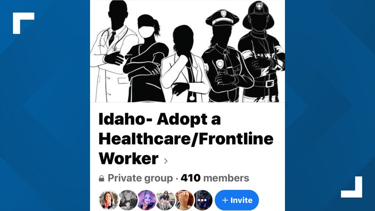 7's Hero: Idaho Facebook group helps people show appreciation for healthcare and frontline workers