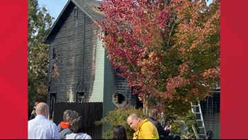Fire extensively damages Meridian home