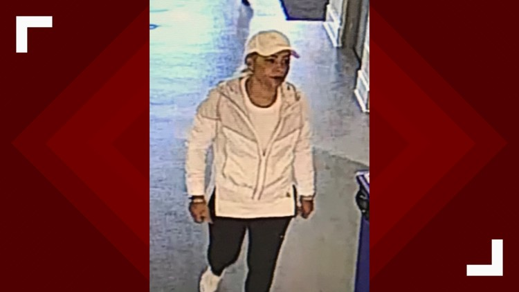 YMCA Female thief