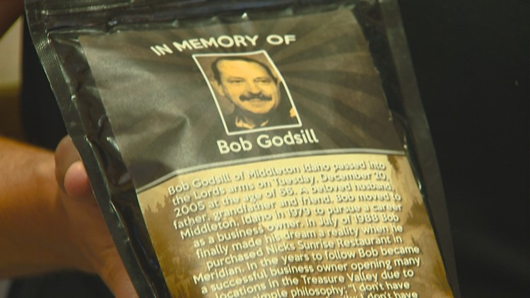 The Orginal Sunrise Cafe was founded by Bob Godsill thirty years ago, the cafe's signature coffee blend is named for him.