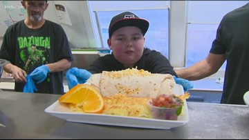 Wednesday's Child: DJ - 'Chef for a day'