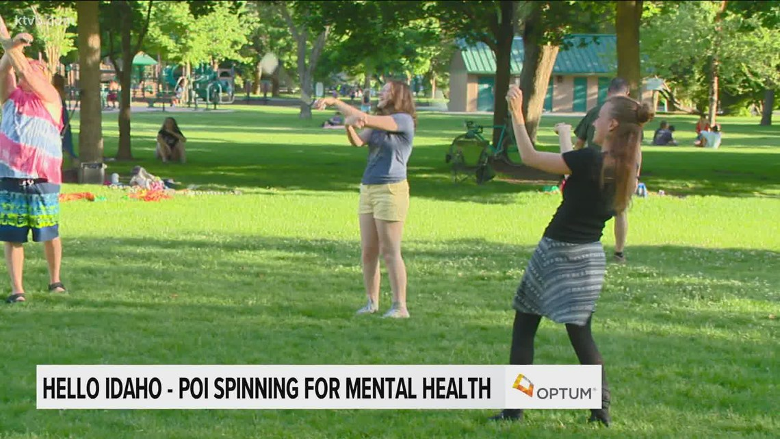 Hello Idaho: Poi spinning in the park