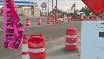 Construction at State and Collister causing headaches for drivers, businesses