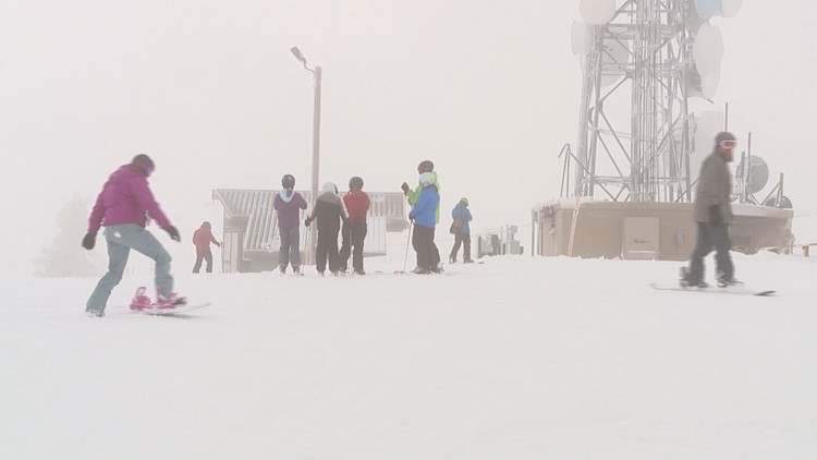 Storm dumps fresh snow on Idaho ski resorts