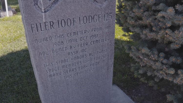Filer Cemetery Odd Fellows