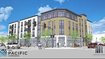Meridian breaks ground on new multi-use buildings in downtown