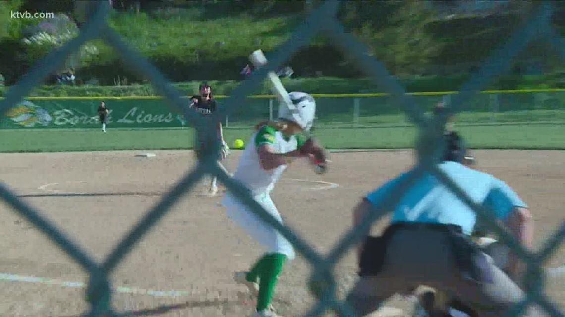 Borah softball beats Capital 5-4 during home game