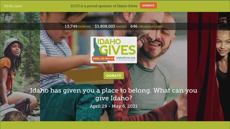 Donations to Idaho Gives top $3.8 million