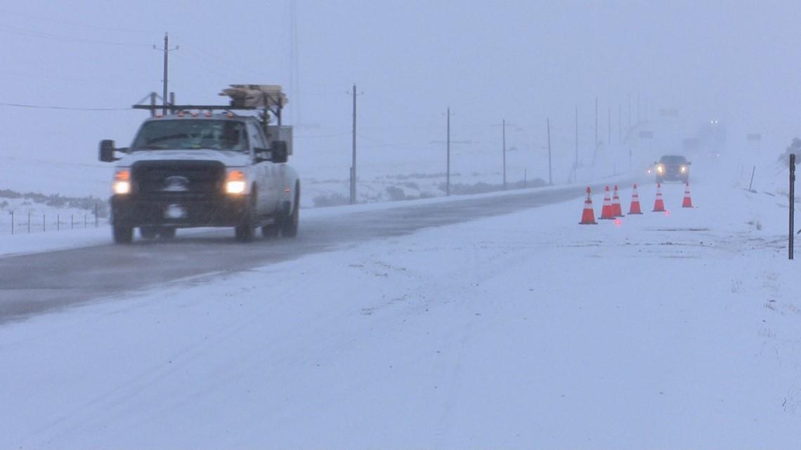 I-84 crashes east of Boise