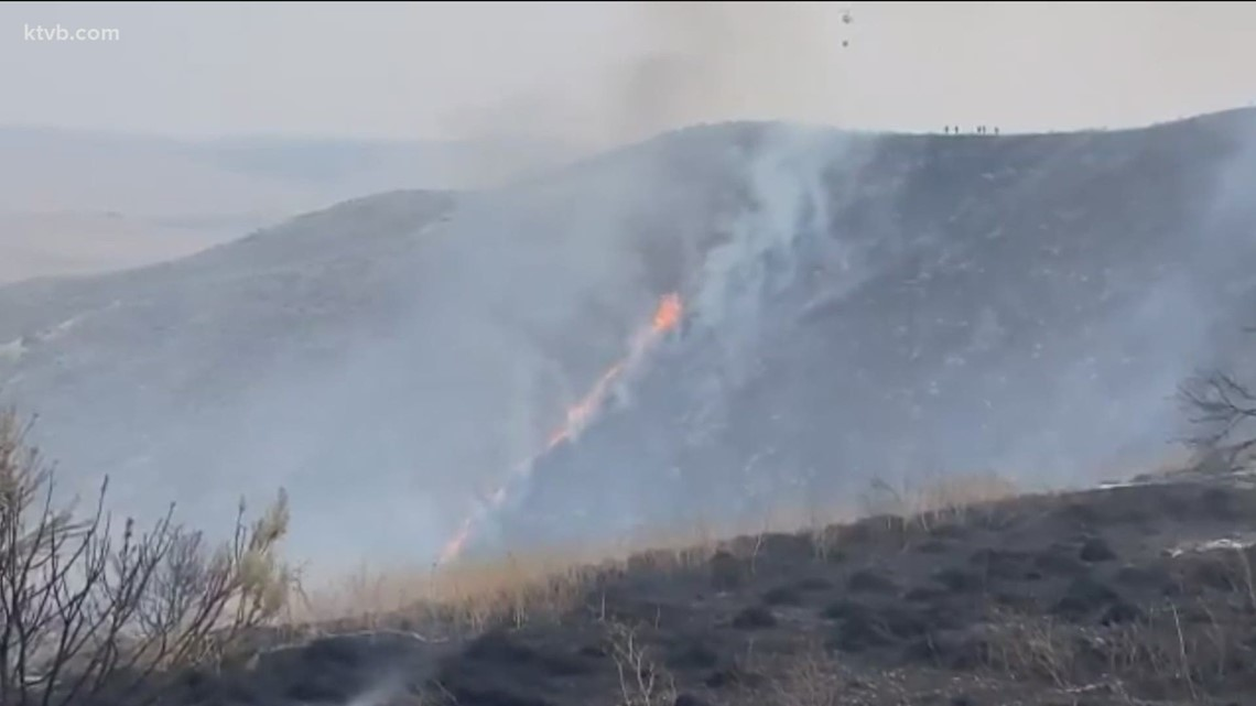 Pilot dies in tanker plane crash near Emmett wildfire