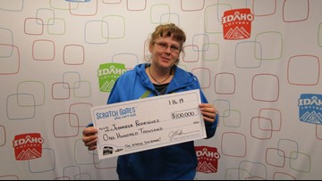 Rupert woman wins $100,000 on 'The Whole Shebang'