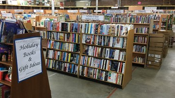 Where's Larry? Library Warehouse, Fall Book Sale