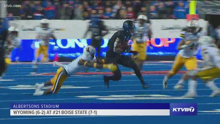 Sunday Sports Extra: Extended highlights and player interviews from Boise State's win over Wyoming