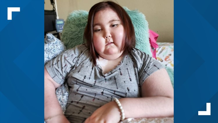 Claire Elliott, 9 has struggled over the past year, she is fighting a deadly brain stem tumor.
