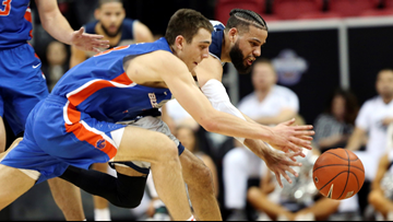 No. 14 Nevada rallies to beat Boise State in Mountain West quarterfinal