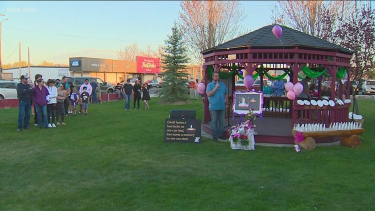 Emmett community gathers for prayer vigil for missing eight-year-old