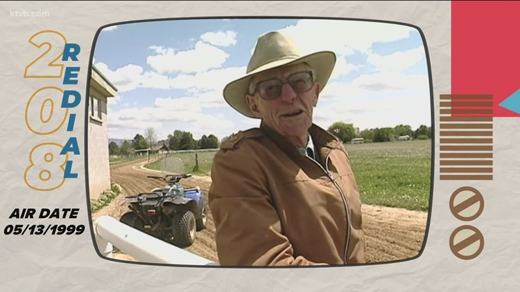 208 Redial: The 84-year-old Boise horse trainer who got around by ATV