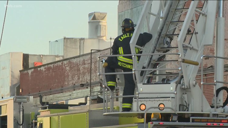 Darigold plant fire causes Caldwell Fire Dept. to reconsider resources