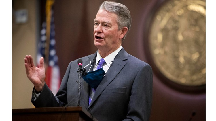 Idaho Gov. Little vetos 2 bills that would trim governor's emergency powers