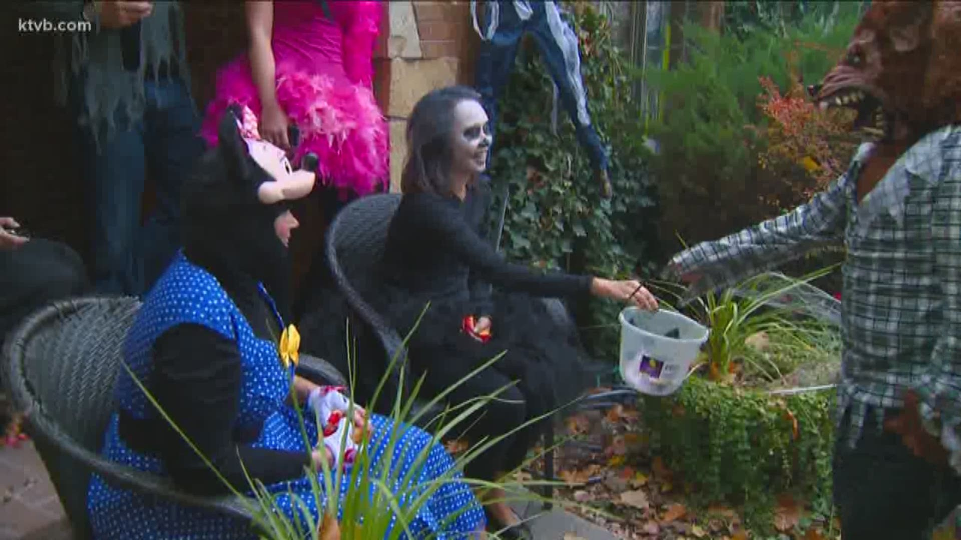 2020 Harrison Blvd Halloween Boise Idaho From pumpkins to disco balls, Harrison homeowner starts new