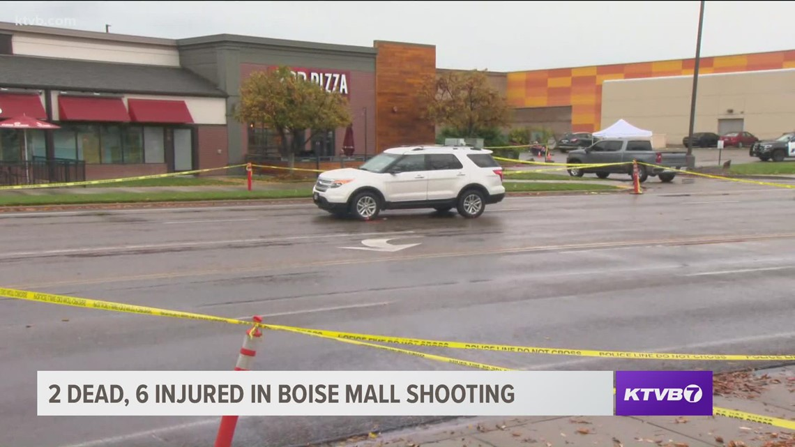 One white SUV spotted near Boise mall with apparent bullet holes through windows