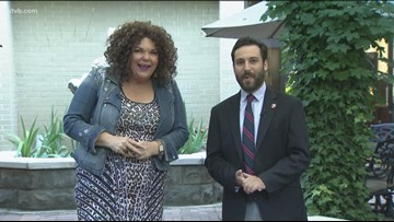 Comedian Vicki Barbolak on Today's Morning News