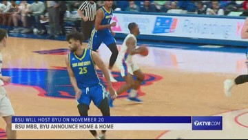 Boise State announces men's basketball series with BYU