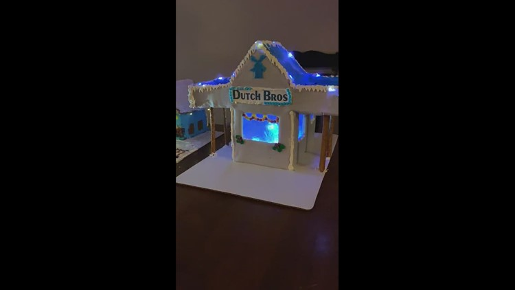 Best Gingerbread house ever