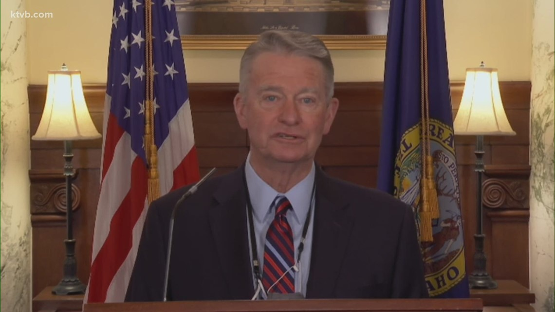 Idaho Gov. Little vetos 2 bills that would trim the governor's emergency powers